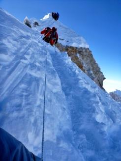 After the summit (photo by Edita Nichols)