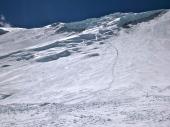 Climbers going to Camp 4 (Edita Nichols)