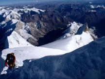 Summit ridge (by Edita Nichols)