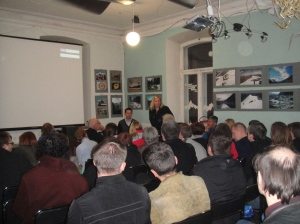Full house at the Travellers club 23 Nov 2012