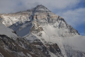View of Everest from the North Side