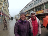 Edita and Margaret. Margaret is a Very Cool Woman - She climber Everest Last Year!