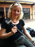 Edita got a new toy for her Go Pro Camera