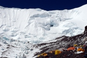 North Col view from ABC