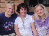 Ole, Margaret and I (3 AJ Summiters!)