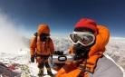 19 - Edita and Tarki Sherpa on the summit