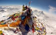 20 - Everesto virsune Mt Makalu kyso tolumoje