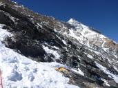 View of the Ridge above Camp Three