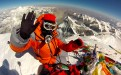 Edita ont the summit of Mt Everest 2013