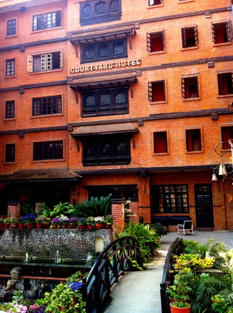 Courtyard Hotel in Thamel (Kathmandu)