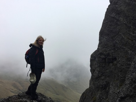 Last volcano 'Las Puntas' I climbed with Javier before I left Ecuador